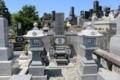 常教寺にある打越氏の墓