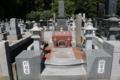 正安寺にある打越氏と他氏の共同墓