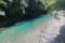 打越城跡の南側を流れる日置川支流の安川