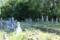 梵光寺の歴代打越氏(紀州武田氏湯川氏流)の墓(中世の墓で戒名のみ