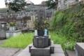 菊水紋/南朝方の和田(楠木)氏の末裔と思しき墓地(郡元墓地)