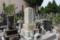菊池氏の末裔と思しき墓(祇園寺)