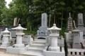 嵯峨源氏渡辺氏流の末裔の墓(祇園寺)
