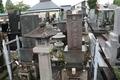 甲斐源氏武田氏の末裔と思しき墓(丸に木瓜紋)