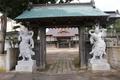 内越城(寒風館)の隣「香泉寺」の山門