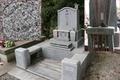 善導寺(青森県)にある打越家の墓※丸に隅田て目結紋