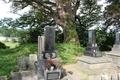 内越城(寒風館)の隣「香泉寺」にある三浦氏末裔の墓