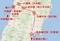 楠木正家の由利下向の軌跡(現在の東北道~秋田道とほぼ同じルート)