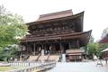 世界遺産である金峯山寺の本堂、蔵王堂