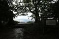 金ヶ崎城の本丸、月見御殿