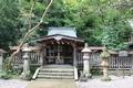 金ヶ崎城に籠城した尊良親王と共に自刃した武将を祀る絹掛神社
