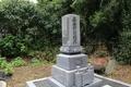 打越山弘願寺の墓地にある打越氏の墓