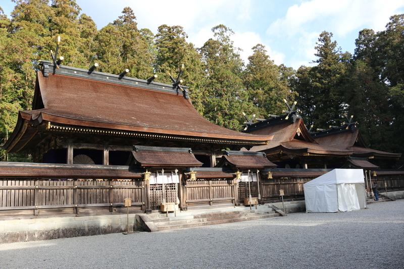 熊野本宮本社の御社殿
