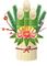 竹が真っ直ぐに伸びるように強くしなやかに保つための節目