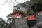 御神岩のゴトビキ岩(熊野の方言でヒキガエルの意味)