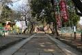 わらべ唄「とおりゃんせ」に歌われる「天神様の細道」(三芳野神社参
