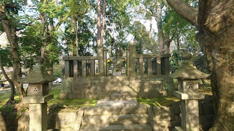 源氏山公園(神奈川県鎌倉市)にある日野俊基の墓