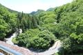 碓氷峠(左:群馬安中、右:長野軽井沢)片峠なので右へ向かって登り