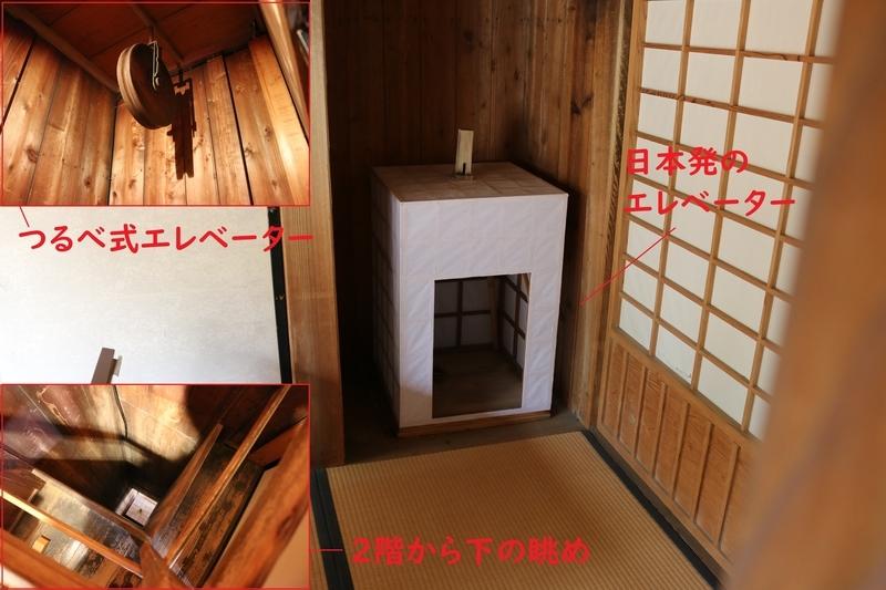 徳川斉昭が発明した日本初のエレベーター(好文亭)