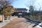 水戸城大手門・二の丸角櫓の復元工事。復元中の大手門(2019/12/08)