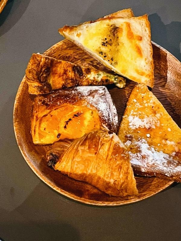 柳ヶ瀬の呑めるパン屋のパンシノンのおつまみ系のパン