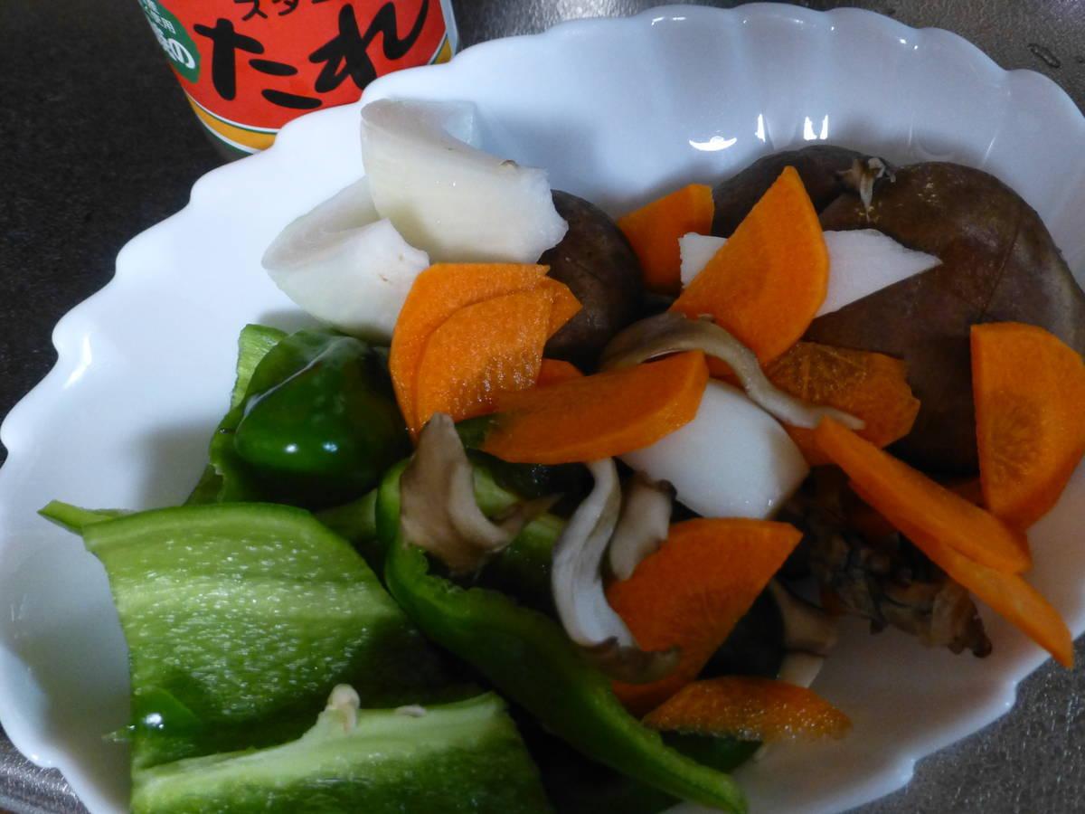 野菜たっぷりお弁当主菜用野菜