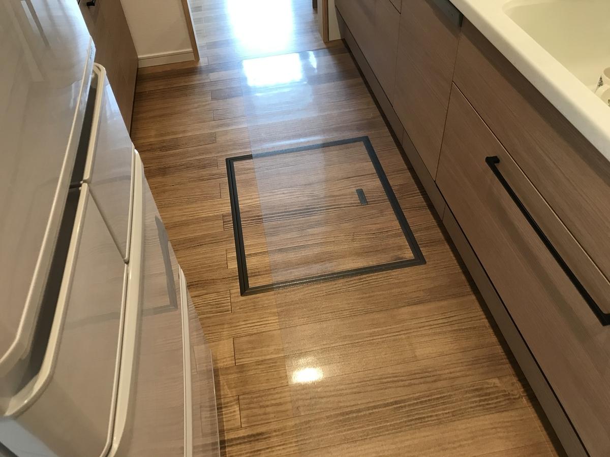 キッチン床下の熱交換システム