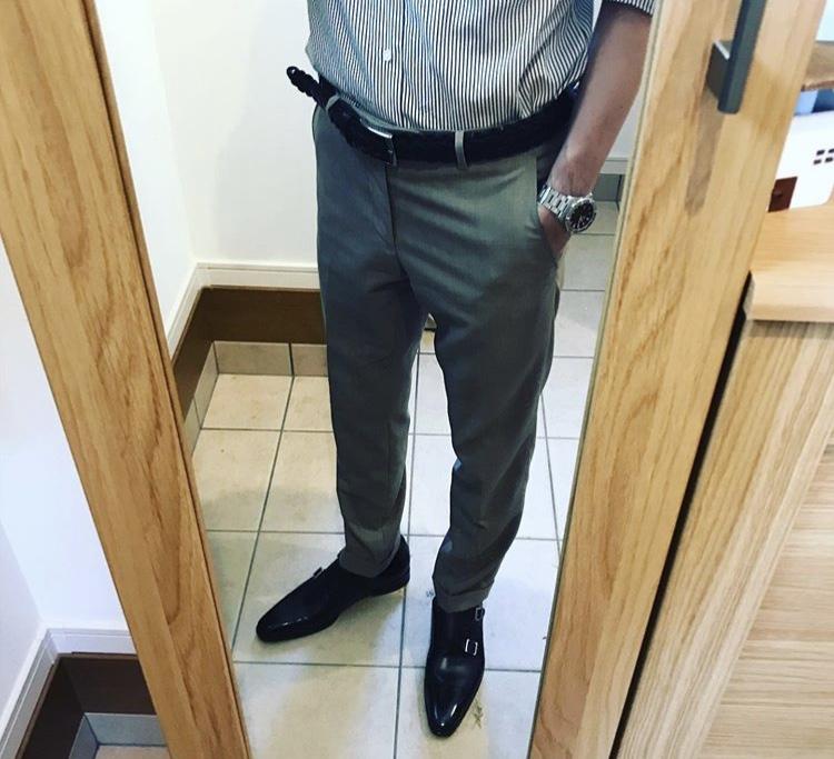 サントーニ スーツスタイル