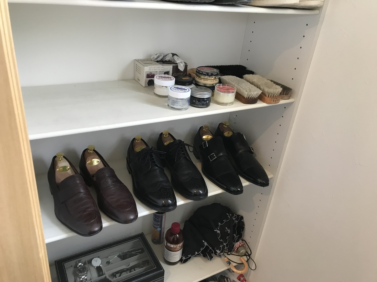 革靴コーナー