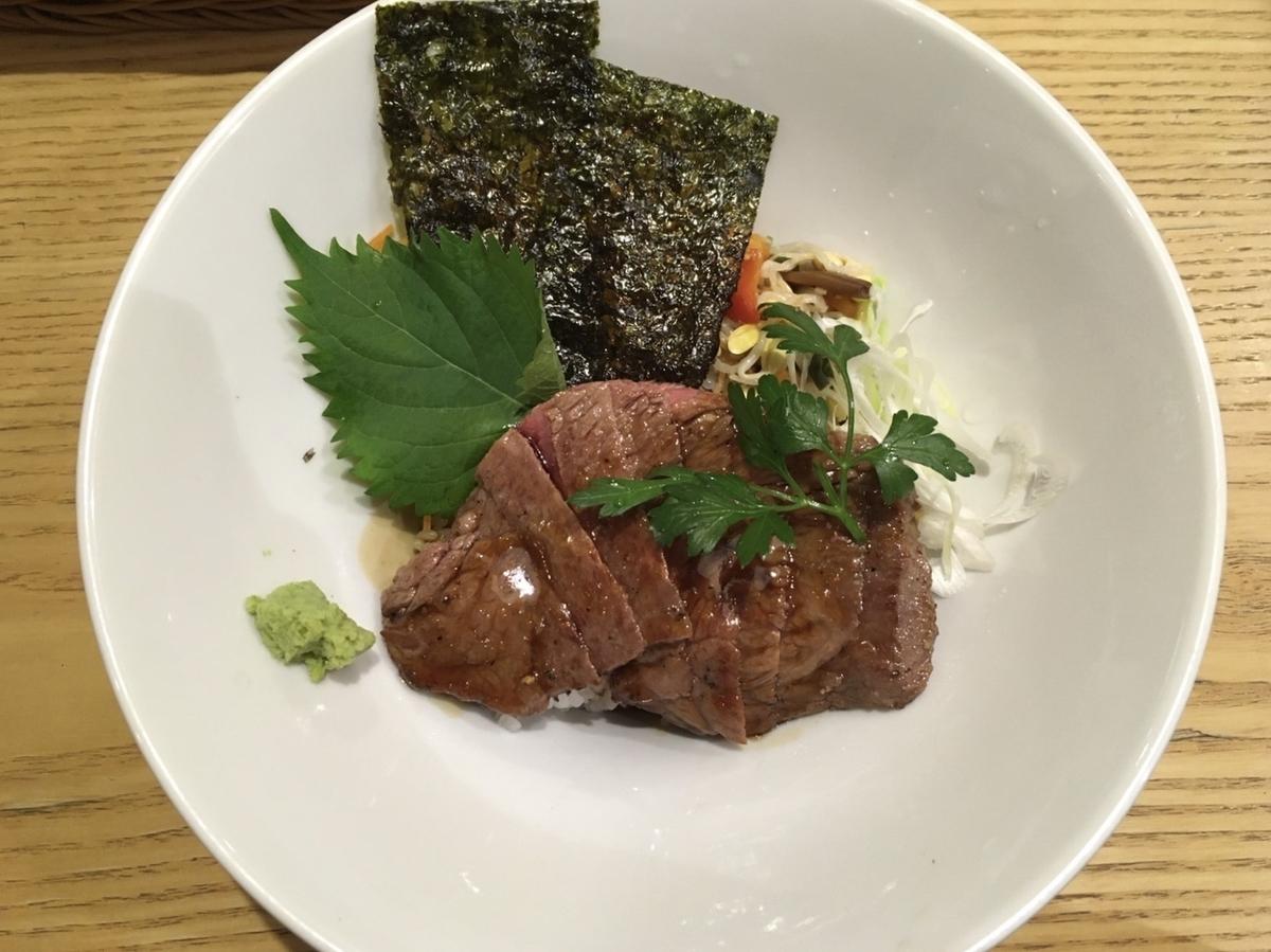 近江牛ビフテキ丼