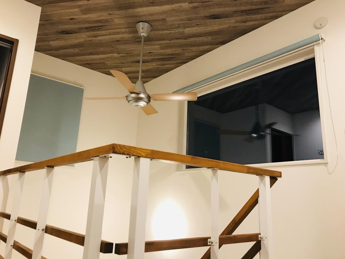 天井吊り下げシーリングファン