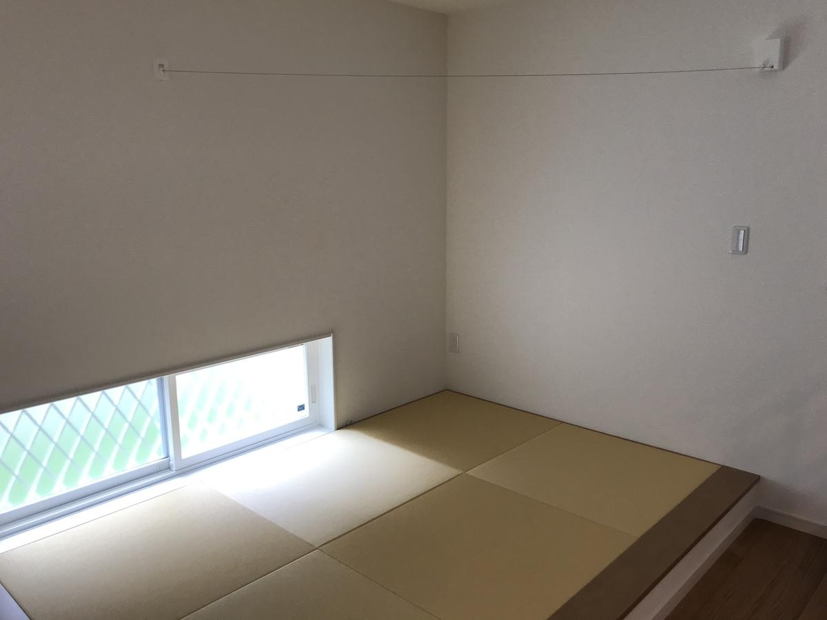 小上がりの畳コーナー