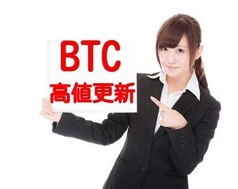 ビットコイン過去最高値の画像
