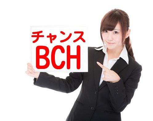 ビットコインキャッシュ(BCH)がチャンスの画像