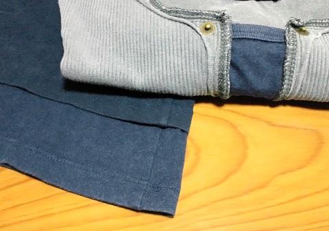 Tシャツのデザインとサイズを変えるリメイク