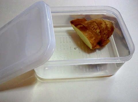 ショウガの保存方法