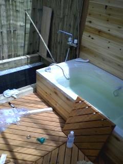 洗い場を作る