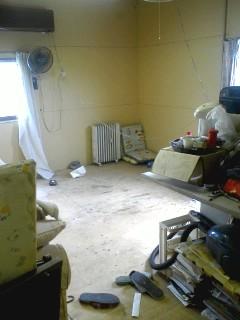 改造前の居間兼台所