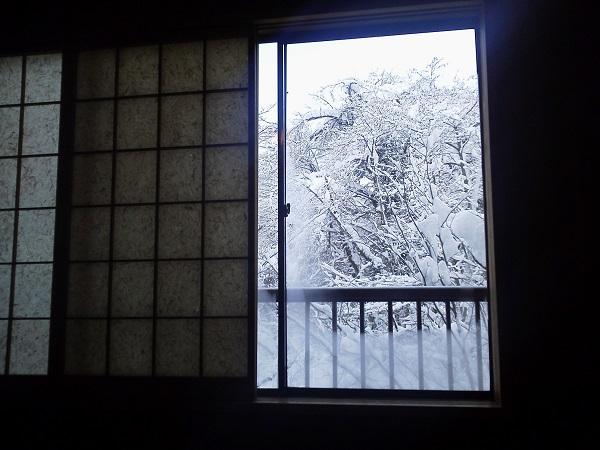 感謝とともに 雪の日
