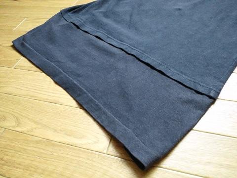 リメイクで丈を長くしたTシャツ
