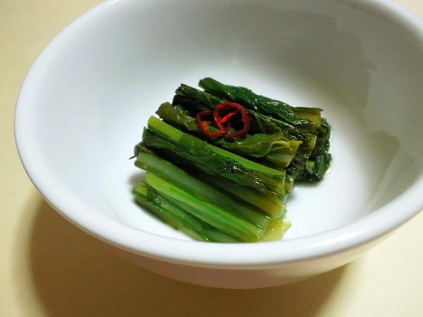 野沢菜風 かぶの葉の漬物
