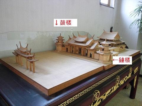 聖天宮の模型
