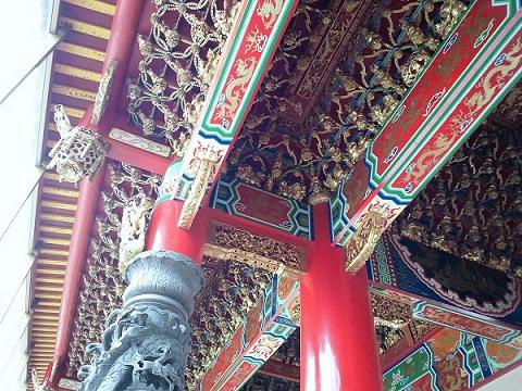 前殿の天井 聖天宮