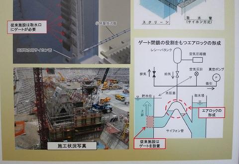 連続サイフォン式選択取水設備 湯西川ダム資料室