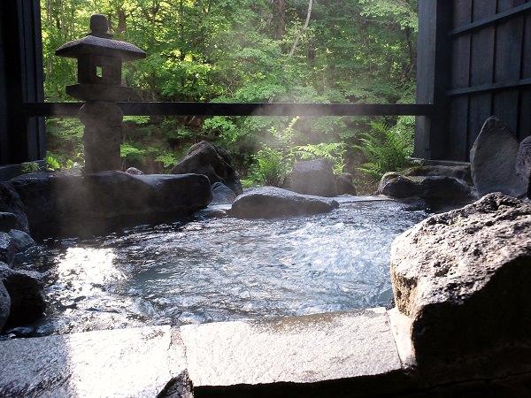 湯西川温泉 平家の庄 貸切露天風呂