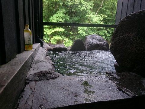 湯西川温泉 揚羽〜AGEHA〜(平家の庄) 貸切露天風呂