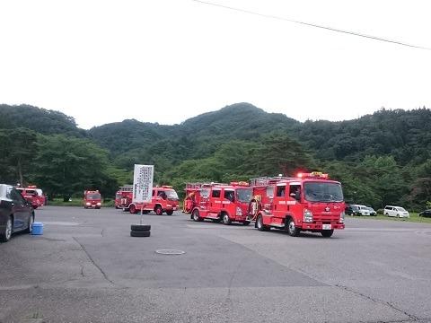 消防車大集合