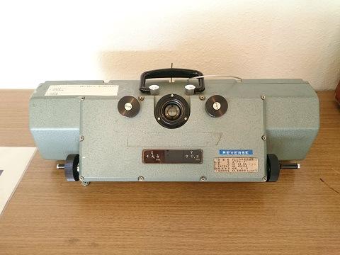 川治ダム資料館3階の隅にある謎の装置