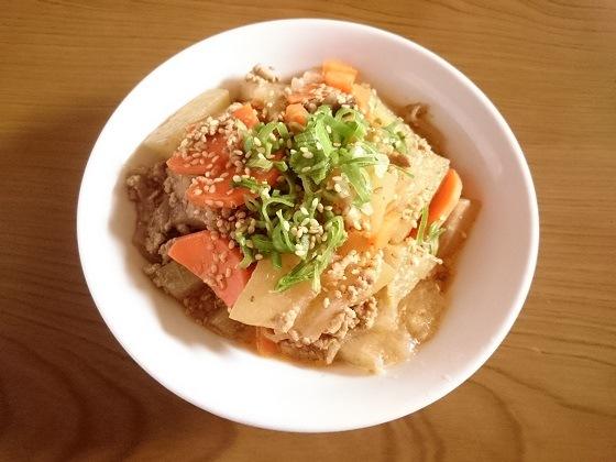【冬瓜レシピ】冬瓜とひき肉の炒め煮