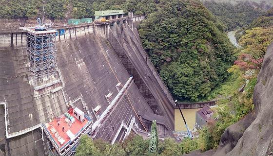 2017年10月の五十里ダム